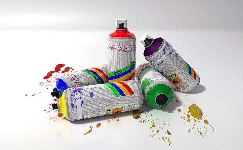 Bombe de peinture : donner une seconde vie à vos meubles et objets